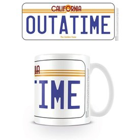 Back To The Future License Plate - Mug