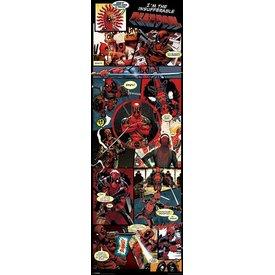 Deadpool Panels - Deur Poster