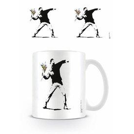 Flower Thrower Banksy - Mug