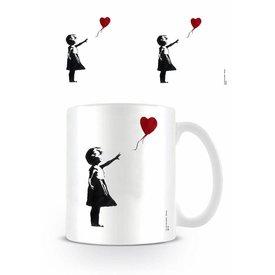 Girl With The Balloon Banksy - Mok