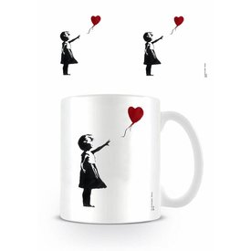 Girl With The Balloon Banksy - Mug