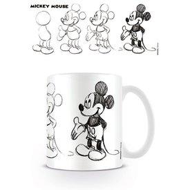 Mickey Mouse Sketch Process - Mok