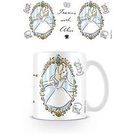 Alice In Wonderland Frame - Mug