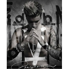 Justin Bieber Purpose - Mini Poster