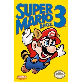 Super Mario Bros. 3 - Maxi Poster