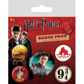 Harry Potter Gryffindor- Badge Pack