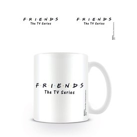 Friends Logo White - Mok