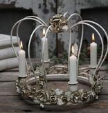 mit Rosen verzierte Vintage Krone
