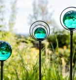 Glaskugeln blaugrün