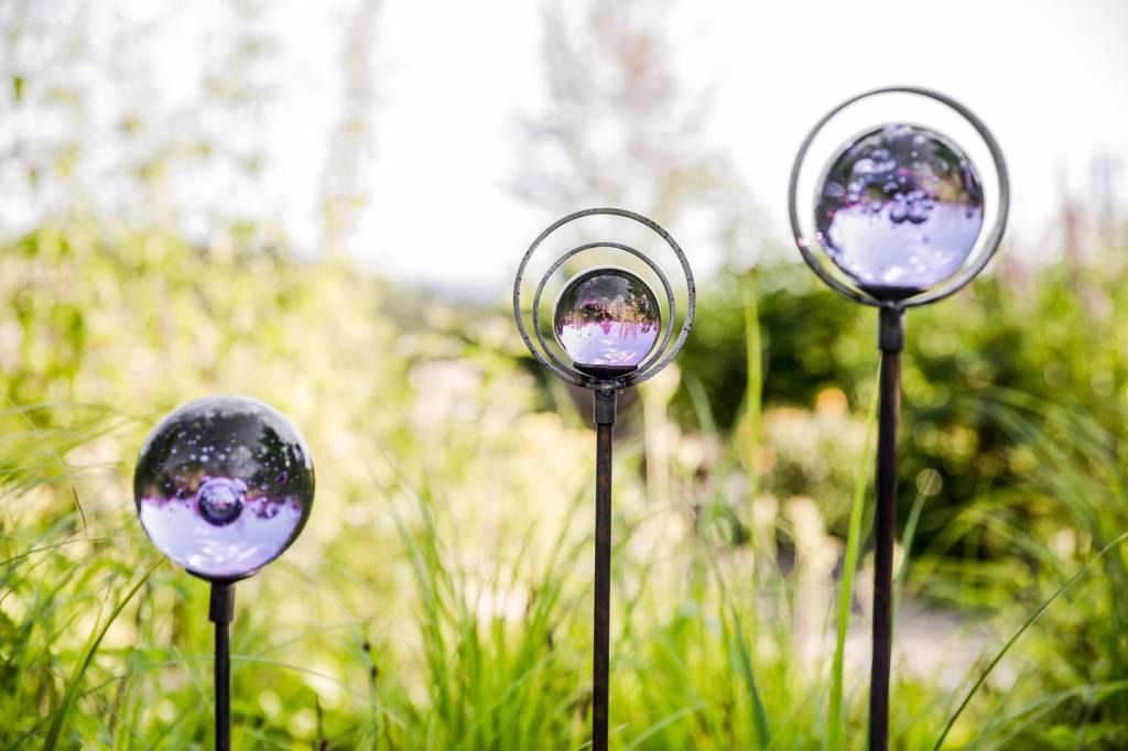 Glaskugeln flieder