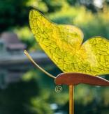 handgefertiger Lichtfänger aus Glas, Schmetterling