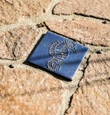 Motiv Pflasterstein Seepferdchen in himmelblau