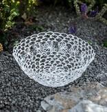 antik weißes Basketkörbchen