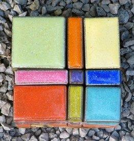 Mosaik Pflasterstein in herrlicher Farbvariante