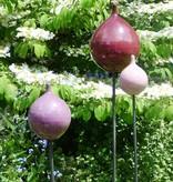 Keramik-Zwiebe flieder