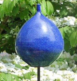 Keramik-Zwiebel kobalt