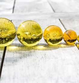 Glaskugeln gelb