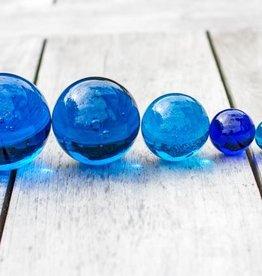 Glaskugeln blau