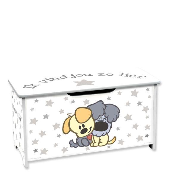 10 Daagse kraamcadeau pakket Woezel en Pip speelgoedkist