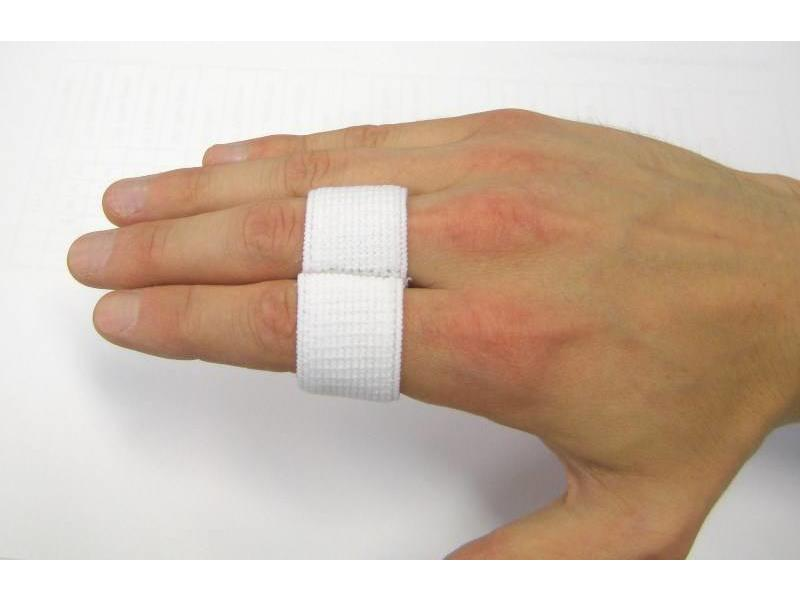 Finger Splint élastique blanc