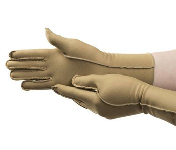 Isotoner therapeutic edema gloves fingers closed