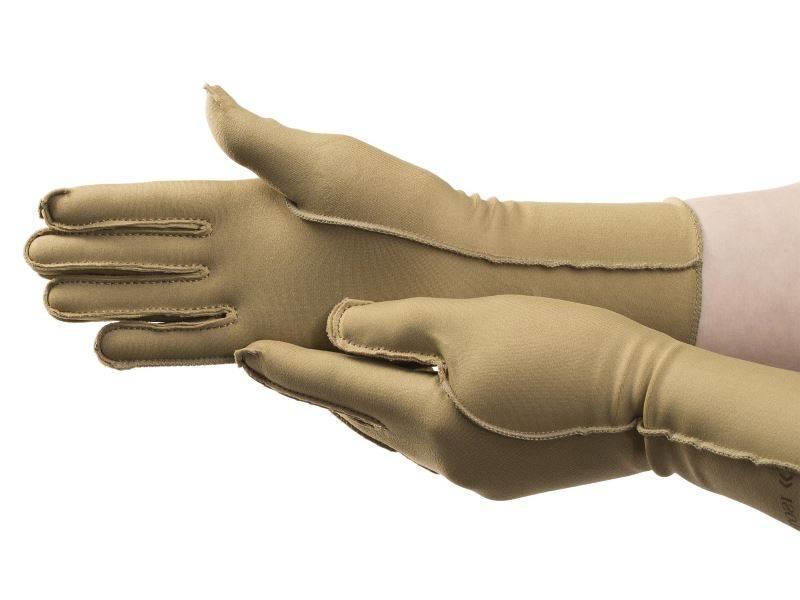 Isotoner therapeutische oedeem handschoenen gesloten vingers