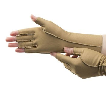 Isotoner therapeutic edema gloves open fingers