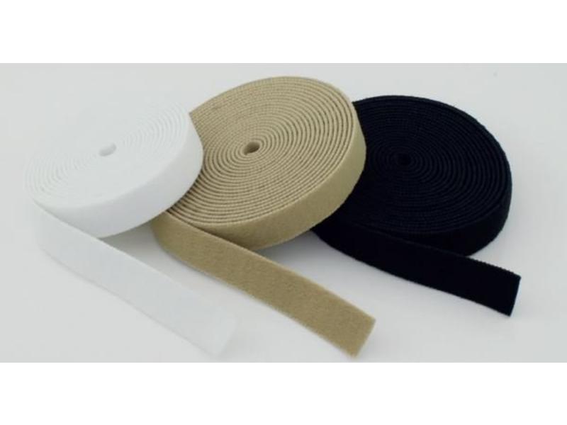 VELCRO® brand Bande de boucle élastique blanc