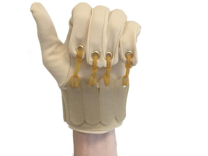 Finger flexion glove