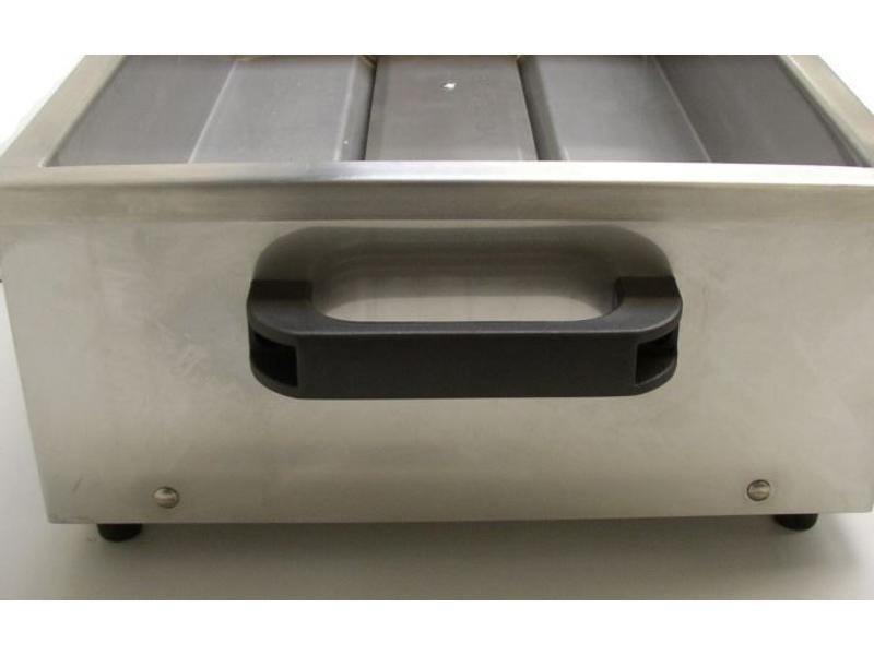 Splinting heat pan avec charnière