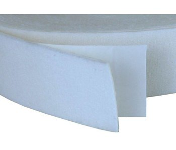 Zelfklevend Badstoffoam wit