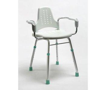 Dusch- und Arbeitsstuhl Prima Modular mit Arm und Rückenlehne