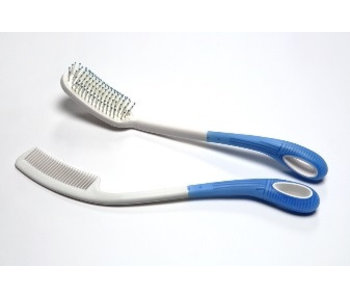 Extended hair set brush 36 cm