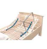 Gleitstangen für Bett- / Transferhalterung auf Lattenrost - 4er Set