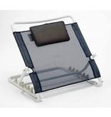 Verstellbare Rückenstütze für das Bett mit Kissen