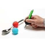 Thickening for cutlery or pen GripoBalls