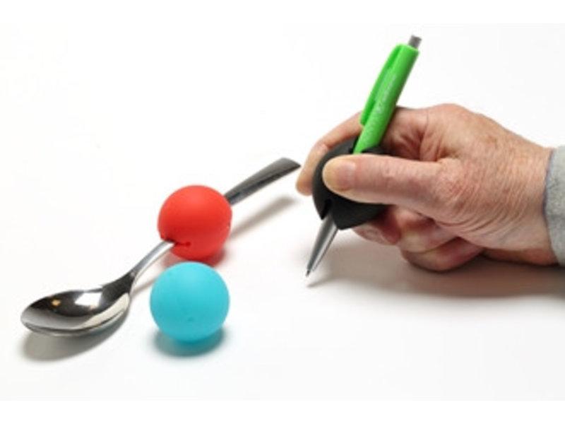 Verdickung für Besteck oder Stift GripoBalls