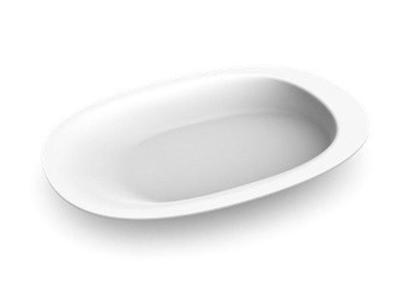 Ovalen bord Henro-Plate PP