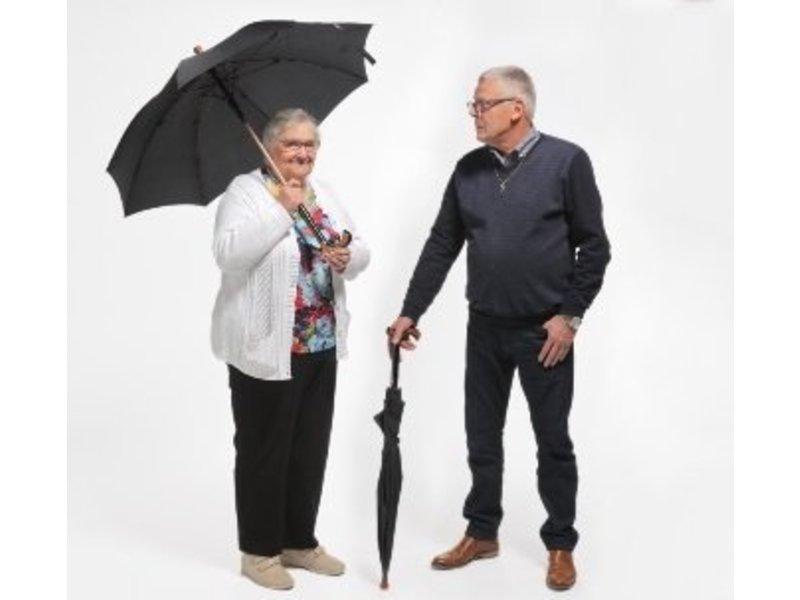 Umbrella / walking stick combination