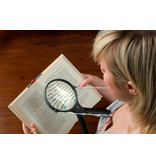 Magnifying glass with neck string