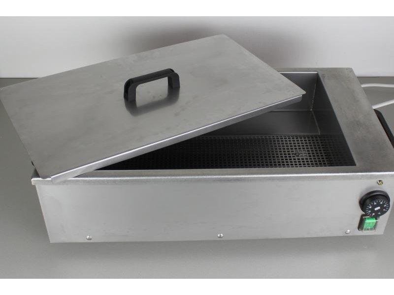 Splinting heat pan
