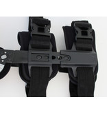 Telescopic ROM knee brace