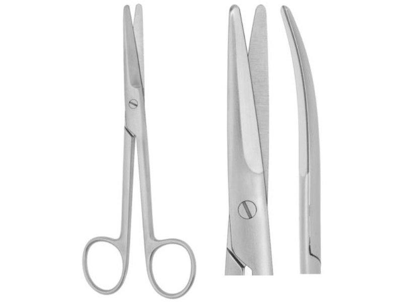 Mayo scissors bent