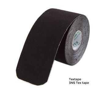 3NS Textape elastisches Band Schwarz