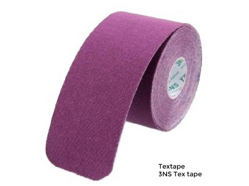 3NS Textape elastische tape  paars