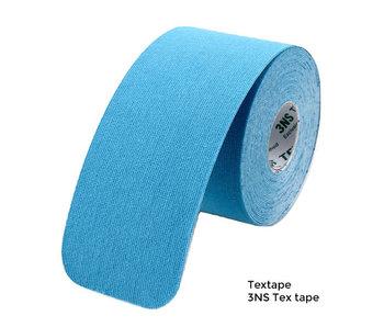 Textape elastische tape blauw