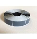 Self-adhesive loop tape S-glue 25 mm x 5 m black