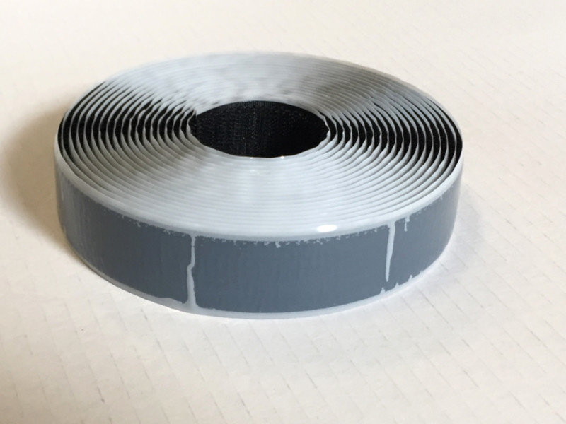 Ruban à loop auto-adhésif S-colle 25 mm x 5 m noir