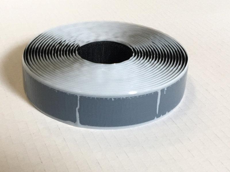 Zelfklevend lusband S-lijm 25 mm x 5 m zwart