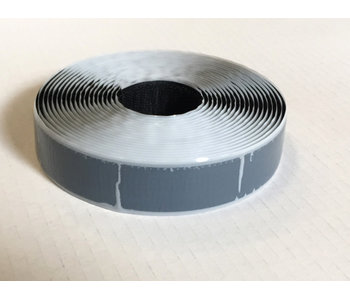 Ruban à crochets auto-adhésif S-colle 25 mm x 5 m noir